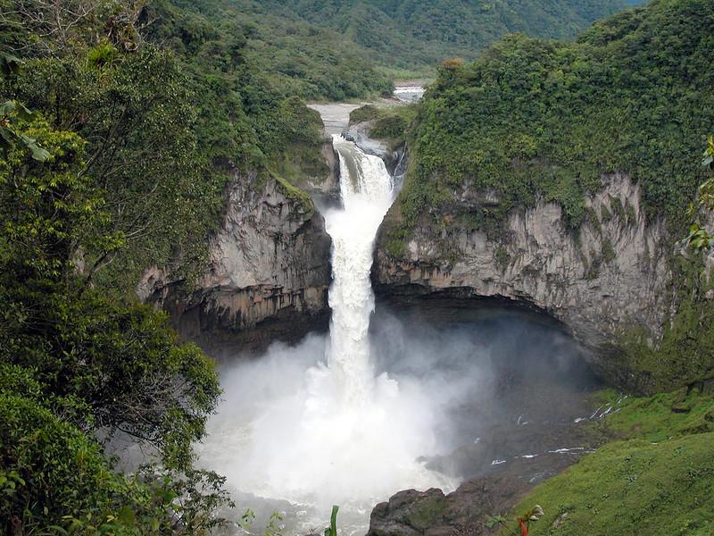 photo of San Rafael at full flow